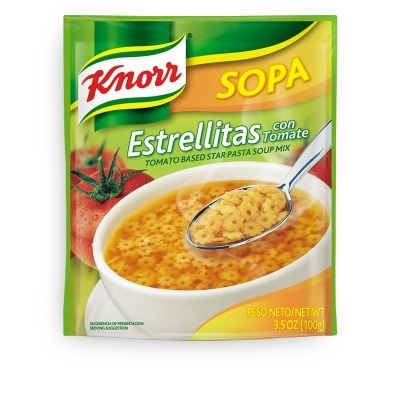 Picture of Knorr Pasta Stars Soup 3.5 oz.&nbsp;- Item No.&nbsp;2606