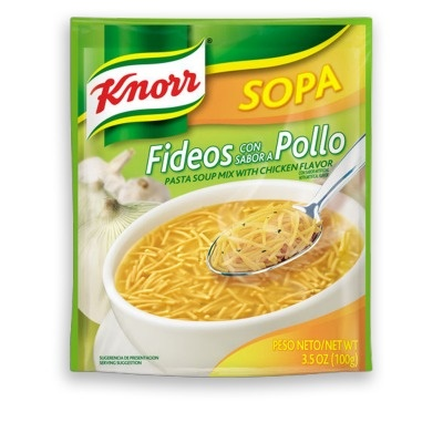 Picture of Knorr Chicken Noodle 3.5 oz (Pack of 3) - Item No. 2607