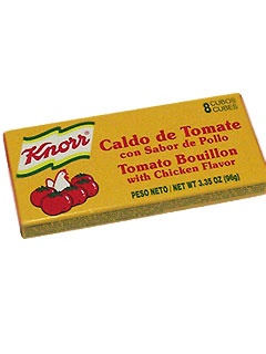 Picture of Knorr Tomato/Chicken Flavored Boullion 8 cubes&nbsp;- Item No.&nbsp;2686