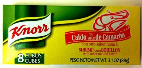 Picture of Knorr Shrimp Flavored Boullion Cubes 8 cubes - Item No. 2695