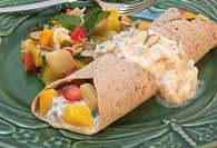 Picture of Tropical Fruit Salad Breakfast Recipe - Item No. 270-tropicalfruitbreakfast