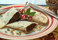 Picture of Chocolate Coconut Filled Turnovers - Item No. 271-chocolateturnovers