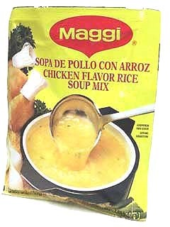 Picture of Maggi Chicken/Rice Soup 2.11 oz. - Item No. 2710