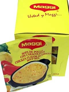 Picture of Maggi Chicken Flavored Seashell Soup Mix 2.11 oz. - Item No. 2719