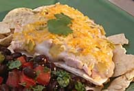 Picture of Chicken and Tortilla Casserole Recipe - Item No. 280-chicktortillacasserole