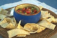 Picture of Black Bean and Corn Salsa - Item No. 281-blackbeancornsalsa