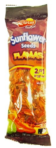 Picture of Frito-Lay Flamas Sunflower Seeds (1 7/8 oz) 12 pack - Item No. 28400-001687