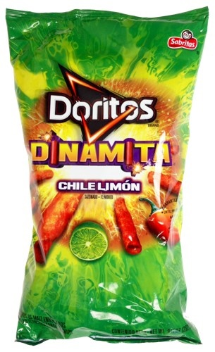 Picture of Doritos Dinamita Chile Limon Rolled Favored Tortilla Chips 9.25 oz - Item No. 28400-00985
