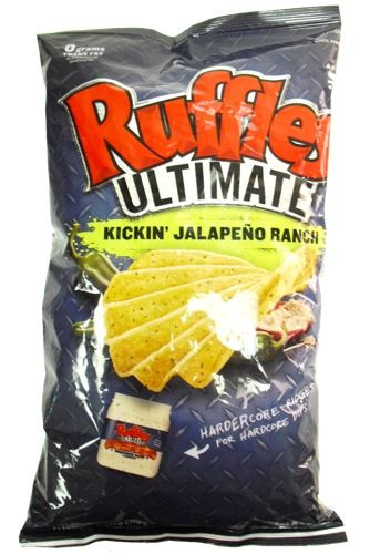 Picture of Ruffles Ultimate Kickin' Jalapeno Ranch 8 oz&nbsp;- Item No.&nbsp;28400-012324