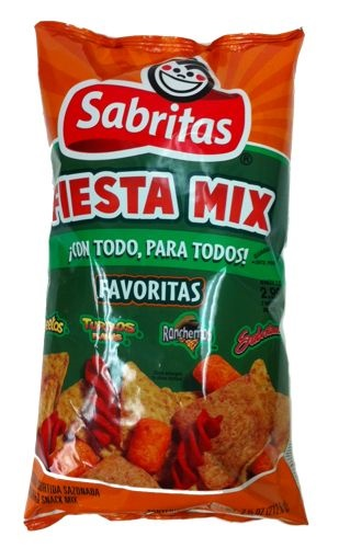 Picture of Sabritas Fiesta Mix Flavored Snacks 7.5 oz (Pack of 3) - Item No. 28400-01337