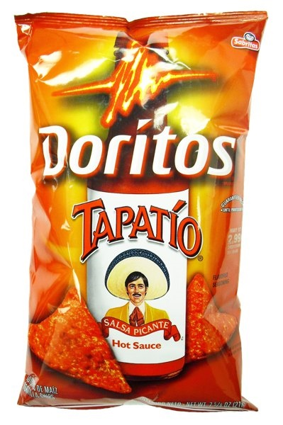 Picture of Doritos Tapatio Salsa Picante Hot Sauce Flavor by Sabritas 11oz - Item No. 28400-03481