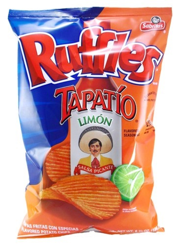 Picture of Ruffles Tapatio Limon Flavored Potato Chips - Item No. 28400-03806