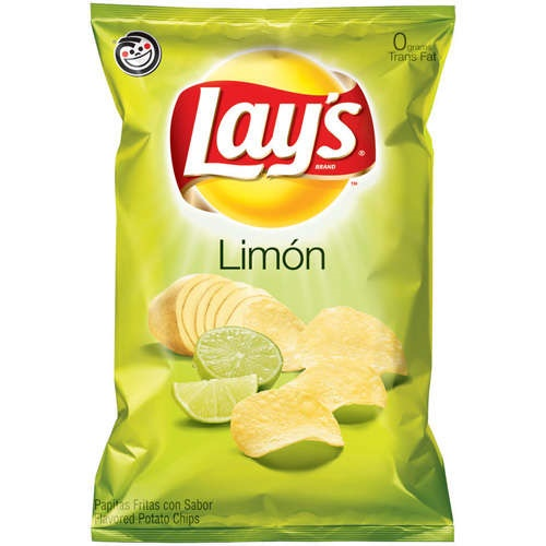 Picture of Lay's Limon Flavored Potato Chips 8.5 oz&nbsp;- Item No.&nbsp;28400-08327