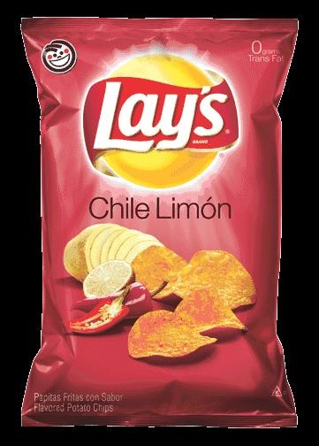 Picture of Lay's Chile Limon Flavored Potato Chips 9.5 oz - Item No. 28400-08329