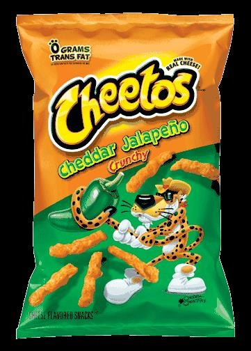 Picture of Cheetos Cheddar Jalape�o Crunchy 8.5 oz - Item No. 28400-08400