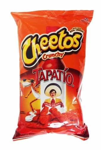 Picture of Cheetos Crunchy Tapatio Salsa Picante Made with Real Cheese - Item No. 28400-14973