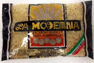 Picture of La Moderna Melon Seed Pasta - Item No. 29243-00006