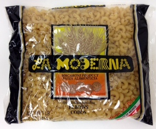 Picture of La Moderna Elbows Pasta  - Item No. 29243-00020