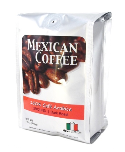 Picture of Mexican Coffee 100% Cafe Arabica Ground Dark Roast - Item No. 29440-87011
