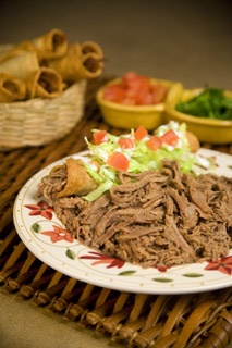 Picture of Shredded Beef for Tacos by Del Real Foods 32 oz - Item No. 29793-02131