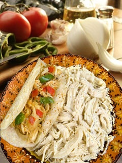Picture of Shredded Chicken for Tacos Del Real Foods 32 oz&nbsp;- Item No.&nbsp;29793-02401