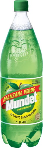 Picture of Sidral Mundet Green Apple Soda 1.5 liter&nbsp;- Item No.&nbsp;29860-00301