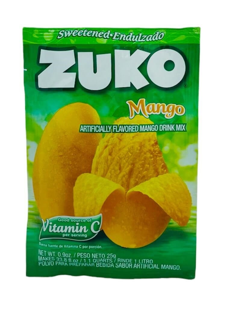 Picture of Zuko Mango Flavor Drink Mix (1 Liter / 0.9 oz) 3 Pack - Item No. 30108-00015