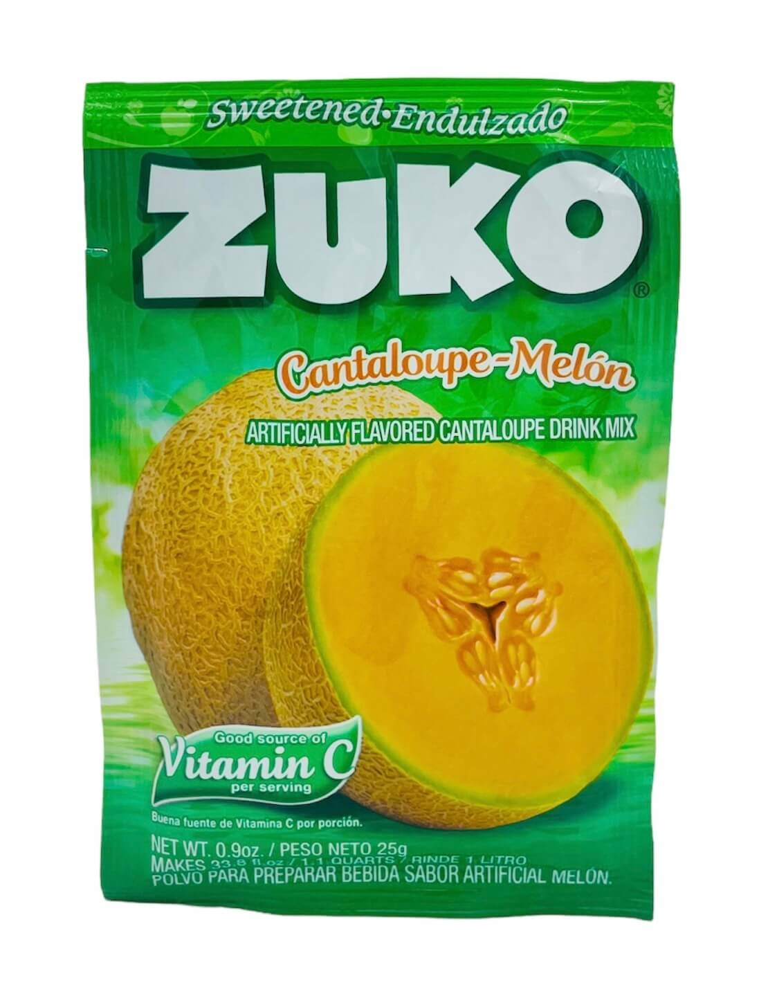 Picture of Zuko Melon Cantaloupe Drink Mix 1 lt - Item No. 30108-00033