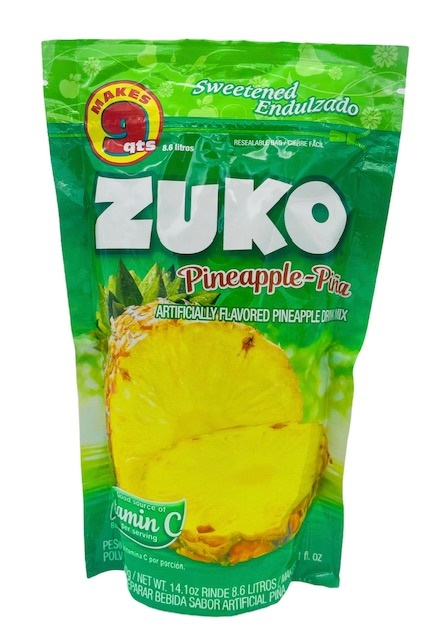 Picture of Zuko Pineapple Flavor Drink Mix (8.6 Liters) 14.1 oz - Item No. 30108-00037