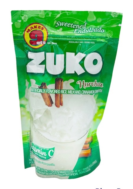 Picture of Zuko Horchata Flavor Drink Mix (8.6 Liters) 14.1 oz&nbsp;- Item No.&nbsp;30108-00038