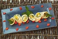 Picture of Summer Crab Wraps Recipe - Item No. 307-summercrabwraps