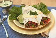 Picture of Easy Beef Fajitas Mexican Recipe - Item No. 308-easybeeffajitas