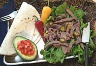 Picture of Authentic Tex-Mex Fajitas - Item No. 309-authentictexmexfajitas