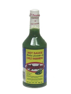 Picture of Green Habanero Hot Sauce by El Yucateco 8 oz. - Item No. 3102