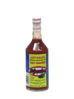 Picture of Chile Habanero Hot Sauce by El Yucateco 8 oz.&nbsp;- Item No.&nbsp;3104