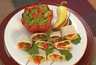 Picture of Veggie Enchilada Spirals Recipe - Item No. 311-veggiespirals