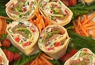 Picture of Tex-Mex Sushi Pinwheels - Item No. 314-texmexsushi