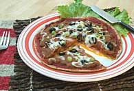 Picture of Quesadilla Pizza Recipe - Item No. 315-quesadillapizza