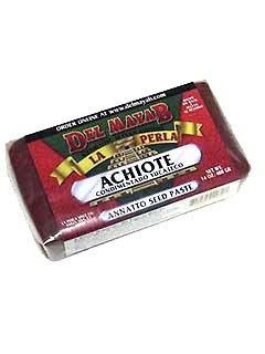 Picture of La Perla del Mayab Annatto Seed Paste - Achiote 14 oz. - Item No. 3150
