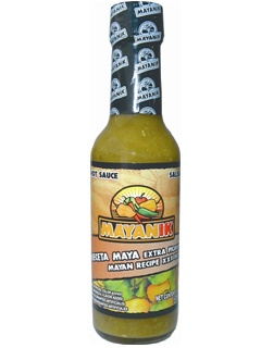 Picture of Mayanik Mayan Recipe XXX Habanero Pepper Hot Sauce 5 oz. - Item No. 3182