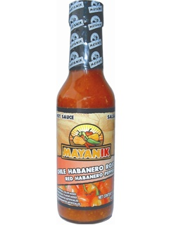 Picture of Habanero Sauce - Mayanik Red Habanero Pepper Sauce 5 oz. - Item No. 3183