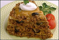 Picture of Mexican Lasagna Recipe - Item No. 32-mexican-lasagna