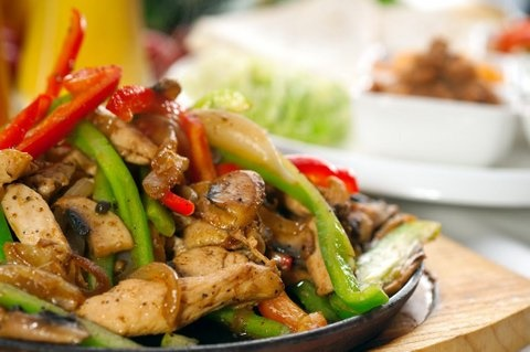 Picture of Fajita Salad Mexican Recipe- Item No.324-fajita-salad