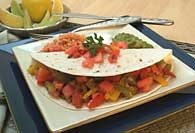 Picture of Vegetarian Fajitas&nbsp;- Item No.&nbsp;325-veggiefajitas