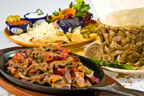 Picture of Rio Grande Fajitas Mexican Recipe - Item No. 328-rio-grande-fajitas