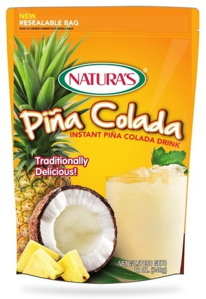Picture of Pina Colada - Natura's Pia Colada Drink Mix 12 oz.&nbsp;- Item No.&nbsp;3293
