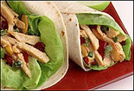 Picture of Curried Turkey Wraps Recipe - Item No. 332-curriedturkeywrap