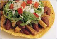 Picture of Turkey Tostada Salad Ole Recipe - Item No. 333-turkey-tostada-salad
