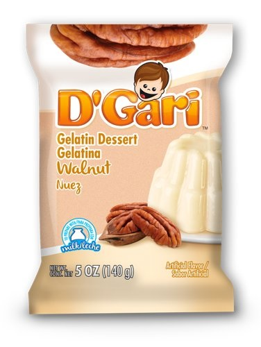 Picture of D'Gari Walnut Gellatin Dessert for Milk 7 oz - Item No. 3372