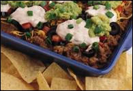 Picture of Eight Layer Party Dip and Chip&nbsp;- Item No.&nbsp;342-8layer-partydip